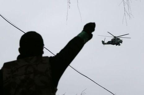 Ukraine Helicoptère