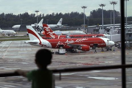 Un avion d'Air Asia