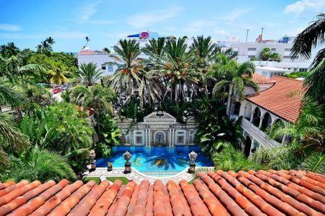 La maison de Versace, à Miami.