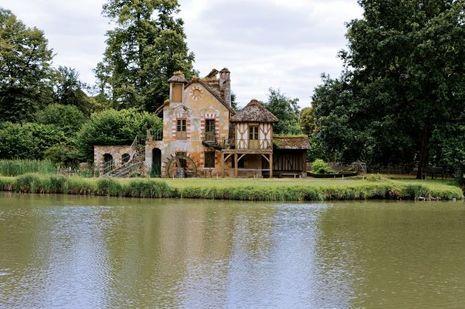 Le moulin du hameau de la Reine à Versailles