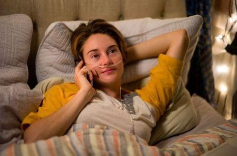 Shailene Woodley, alias Hazel Grace.