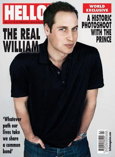 William couverture Hello Magazine 560x763-