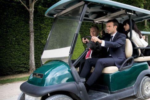 Quand les Grands se retrouvent à Versailles