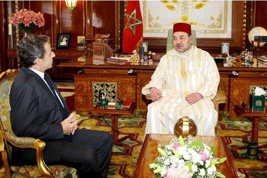 Le patron des Républicains loue l'action du roi du Maroc