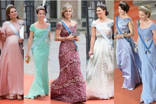 Tous les looks des reines et princesses en 40 photos