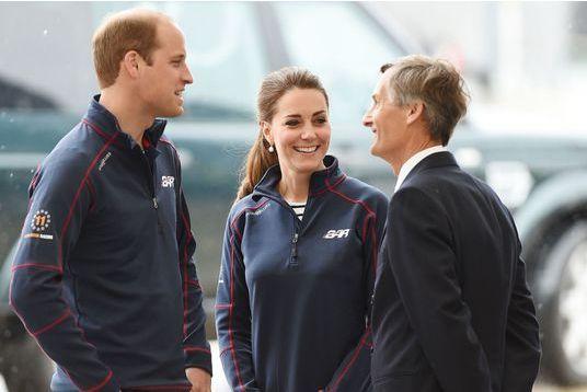 Dimanche sportif pour Kate et William