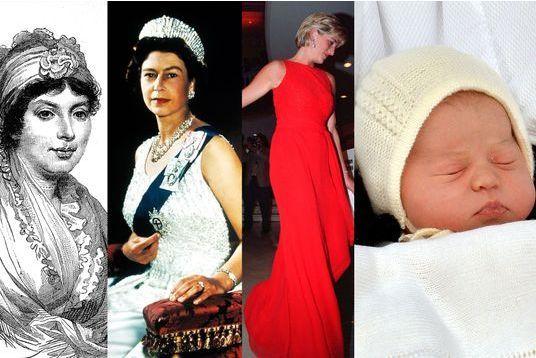 Une toute petite princesse mais trois prénoms illustres