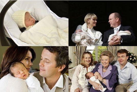 Quand les royautés présentent leurs bébés