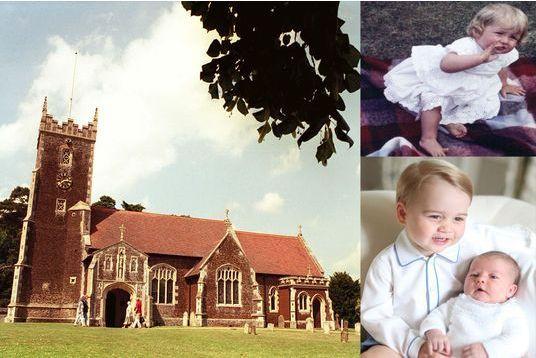 Charlotte, baptisée dans la même église que Diana