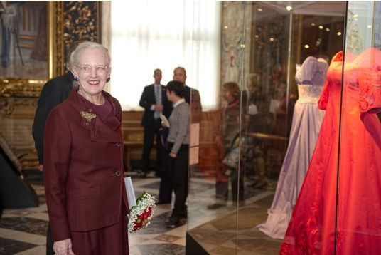 Margrethe dévoile sa garde-robe