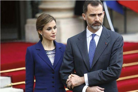 Letizia et Felipe VI, unis dans la douleur