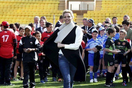 Charlène de Monaco, un sourire de triomphe