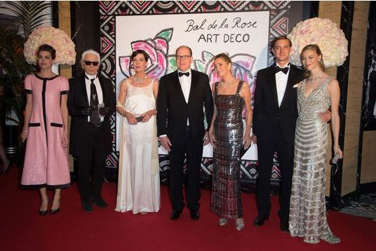 Le 61ème bal de la Rose à Monaco