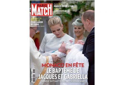 The Catholic baptism of Jacques and Gabriella