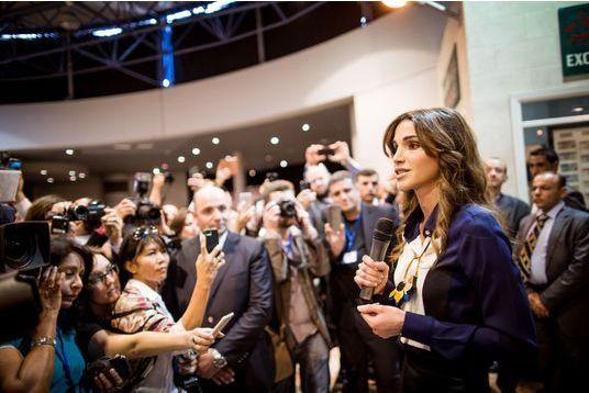 La reine Rania, ambassadrice du tourisme en Jordanie