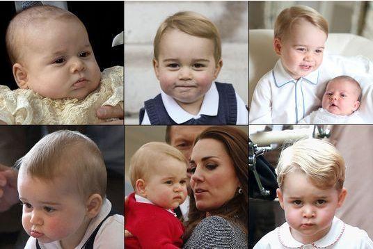 Baby George, l'enfant roi