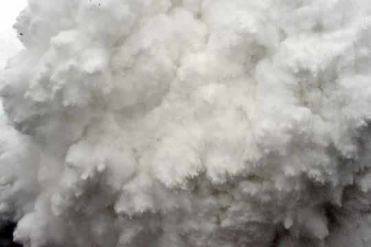 Un photographe au cœur de l'avalanche