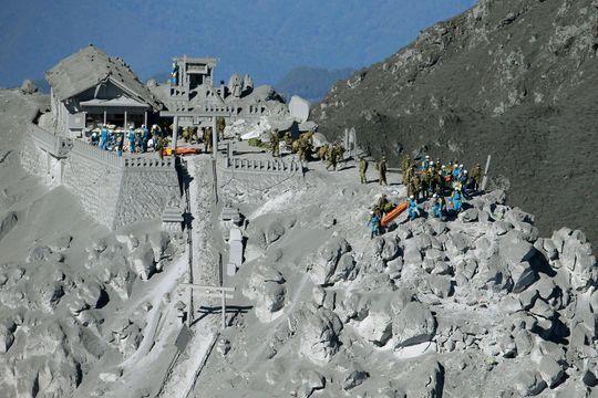 Le royaume de cendres du volcan Ontake