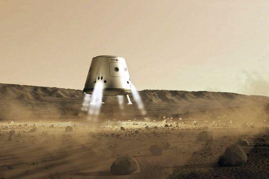 Le premier homme sur Mars