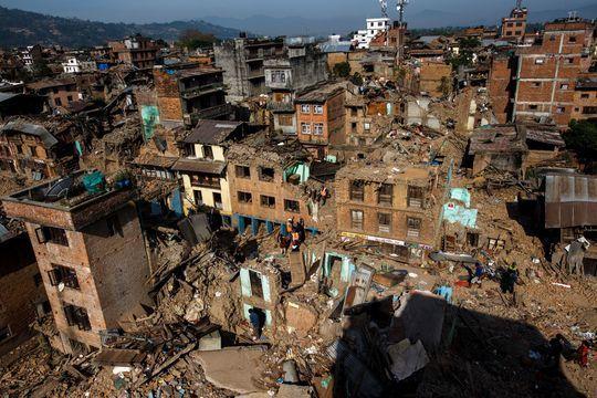 A Katmandou, la vie reprend son cours