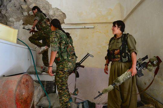 Les Yézidies n'ont plus peur