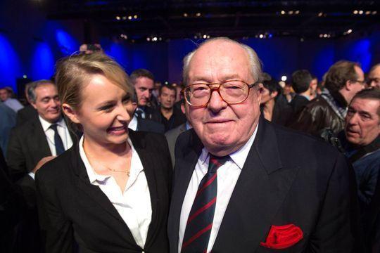 Jean-Marie Le Pen soutiendra sa petite-fille Marion