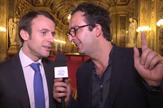Macron, l'autre vedette de l'émission du Président