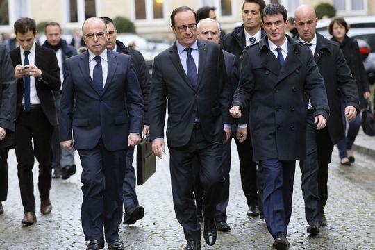 Hollande-Valls-Cazeneuve, un trio au sommet