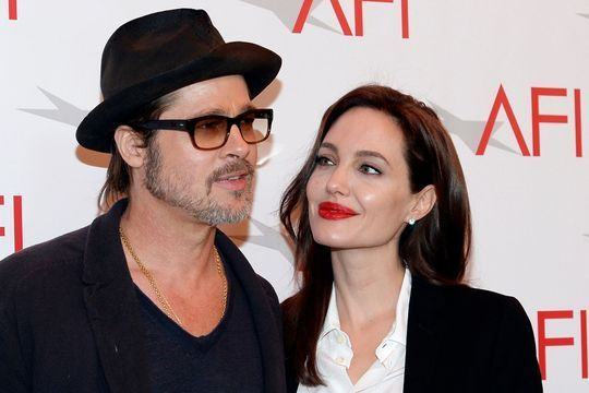 Un avion pour les 40 ans d'Angelina Jolie