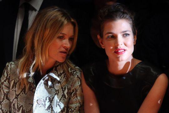 Charlotte Casiraghi et Kate Moss, des amies à la mode