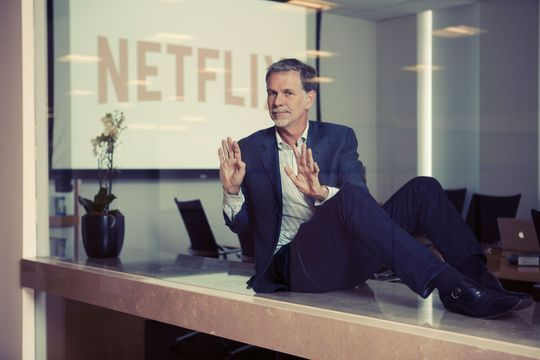 Reed Hastings raconte la saga Netflix