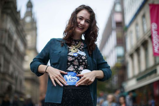 A Glasgow, les Ecossais entre espoir et crainte