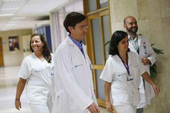Ebola, l'infirmière espagnole est sauvée
