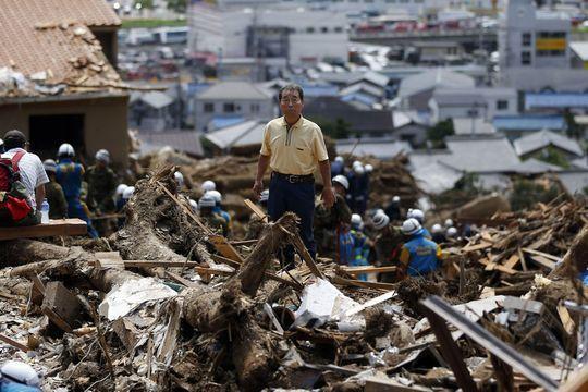 Hiroshima, zone dévastée
