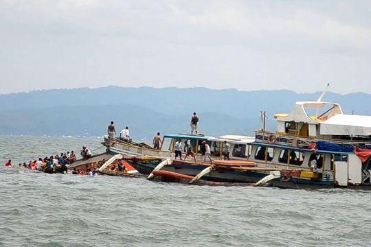 Naufrage d'un ferry transportant 189 personnes aux Philippines