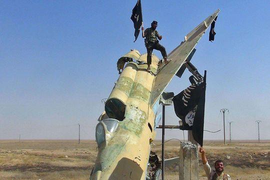 L'Etat islamique bombardé