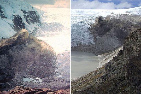 Fonte des glaciers : les images chocs