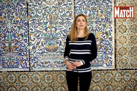 Julie Gayet, solidaire de la Tunisie