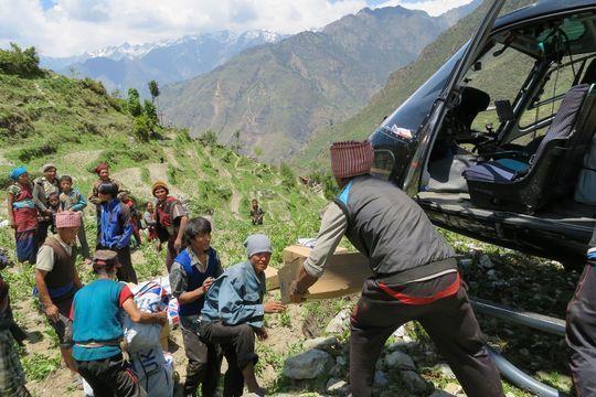 """""""Nous resterons le plus longtemps possible"""" au Népal"""