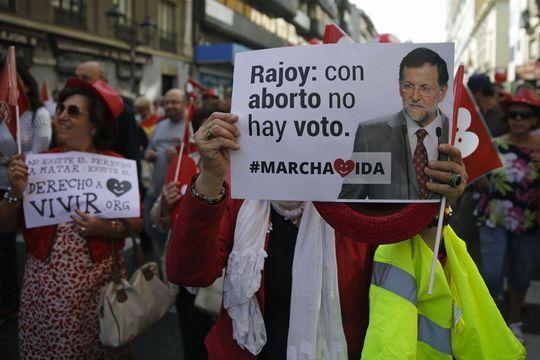 """""""Rajoy n'avait pas à se mêler de la liberté des femmes"""""""