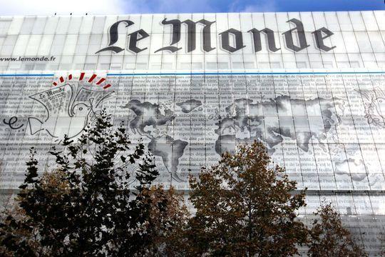 """""""Le Monde""""porte plainte"""