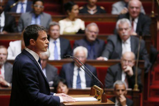 Les députés accordent leur confiance à Manuel Valls