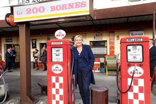 Marine Le Pen déborde d'énergie