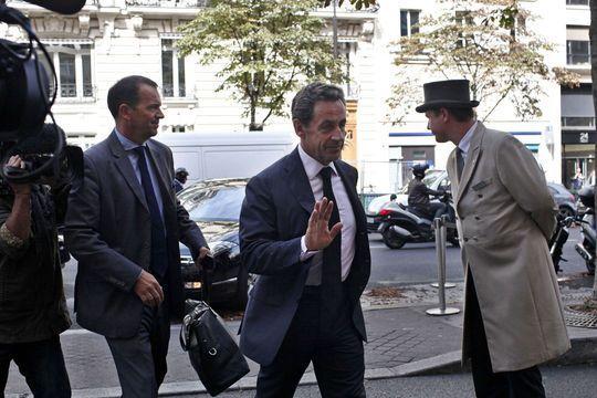 Nicolas Sarkozy revient