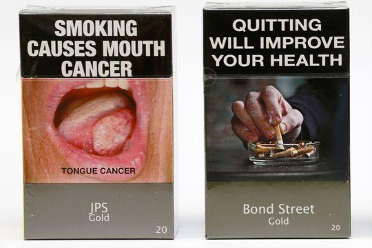 Bientôt des paquets de cigarettes sans logo