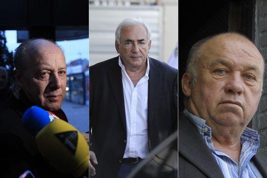 Les principaux protagonistes de l'affaire du Carlton de Lille