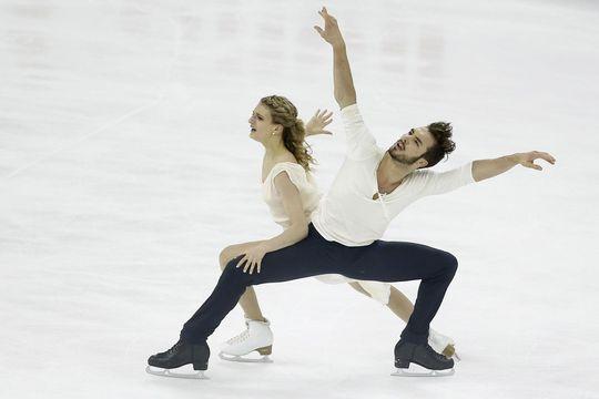 Champions du monde de patinage, sur un air de Mozart