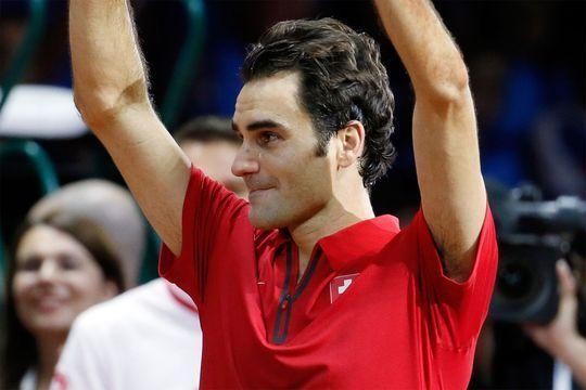 A Lille, des larmes pour Federer