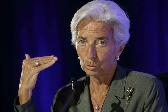 Christine Lagarde à nouveau entendue