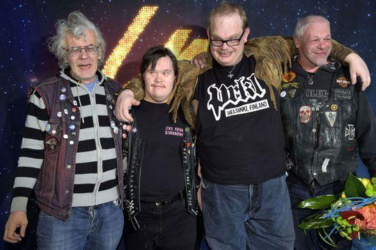 Des punks trisomiques représenteront la Finlande